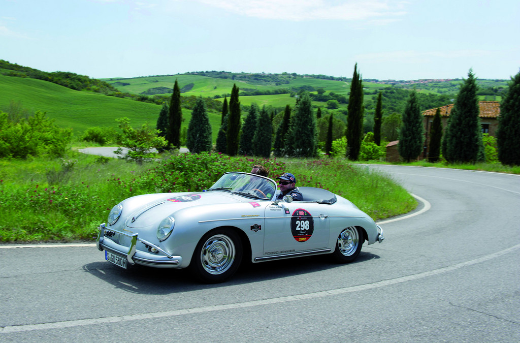 Volkswagen-Konzern startete mit 17 Autos bei der Mille Miglia