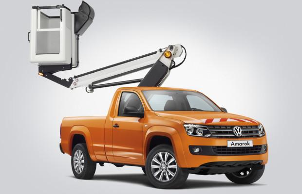 Volkswagen Nutzfahrzeuge zeigt individuelle Branchenlösungen