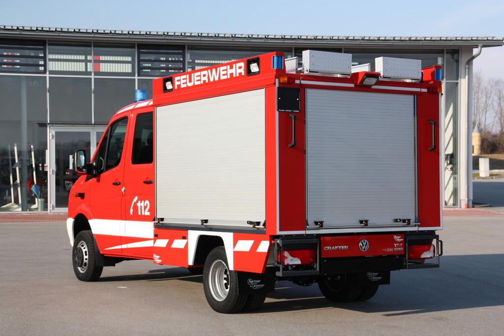 Volkswagen präsentiert seine Rettungsfahrzeuge