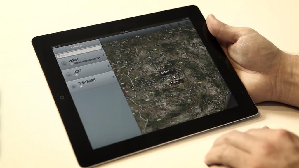 Volvo Dynafleet jetzt auch als App