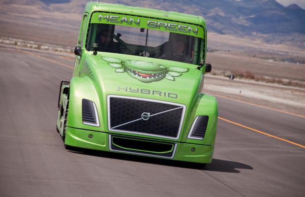 Volvo-Lkw  stellt neue Weltrekorde auf