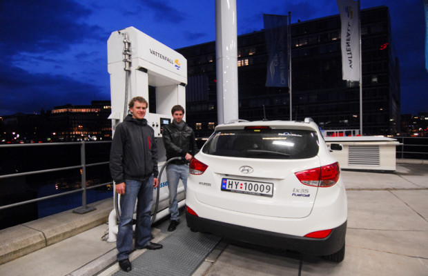Von Oslo nach Monaco: Wasserstoffautos legen Rekordstrecke zurück