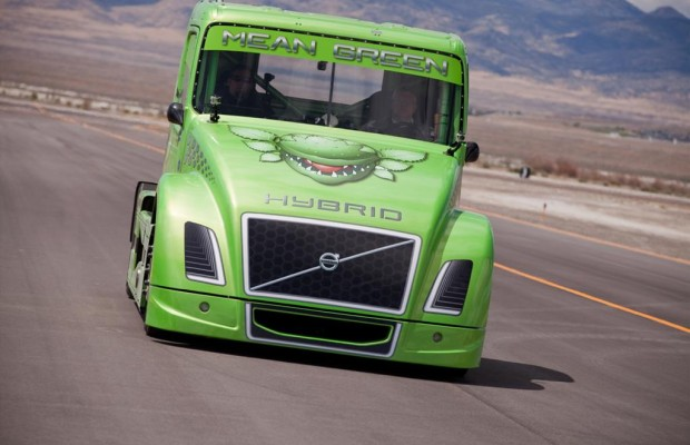 Wem nützt der Hybrid-Lkw-Rekord von Volvo?