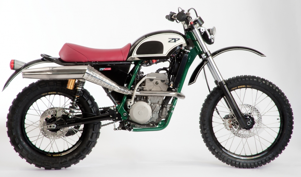 ZPsport 449: Handgefertigtes Retro-Gelände-Motorrad von ZPmoto aus Zschopau startet im Oktober
