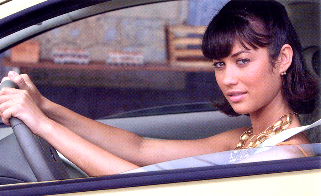 007-Girl Olga Kurylenko im Ford-Bond-Ka.