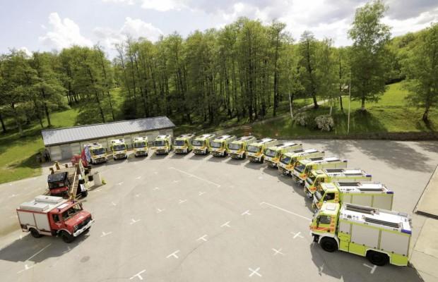 15 Unimog U 20 für die Tessiner Feuerwehr
