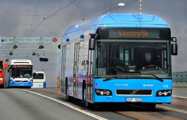 25 Volvo-Hybridbusse für Göteborg