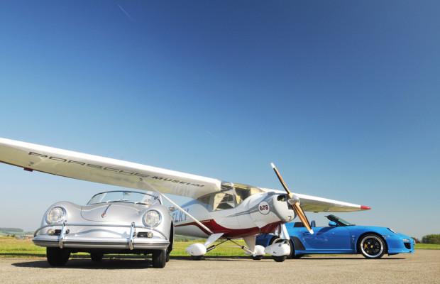 5. Flugplatz-Treffen: Porsche zu Lande und in der Luft