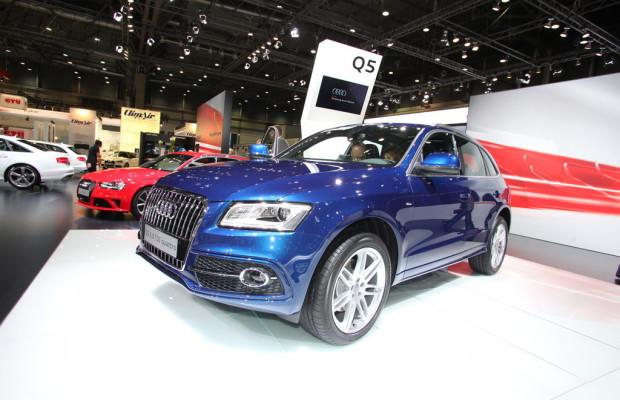 AMI 2012: Audi zeigt überarbeiteten Q5
