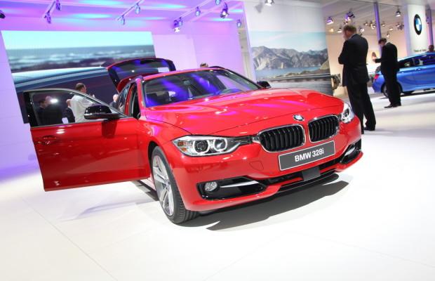 AMI 2012: BMW 3er Touring als Weltpremiere