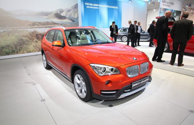 AMI 2012: BMW X1 stellt sich vor