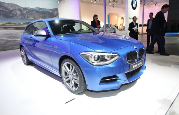 AMI 2012: Der BMW 1er als Dreitürer hat Weltpremiere