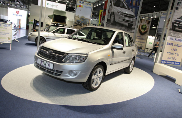 AMI 2012: Der Lada Granta kostet in Russland unter 6.000 Euro