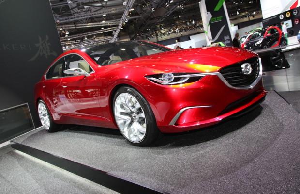 AMI 2012: Der Mazda Takeri hat einen intelligenten Energiekreis