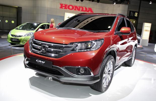 AMI 2012: Honda zeigt Prototyp des CR-V