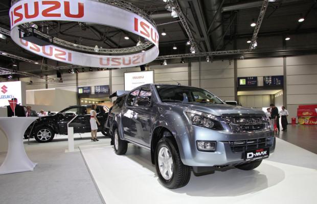 AMI 2012: Isuzu D-Max feiert Markteinführung