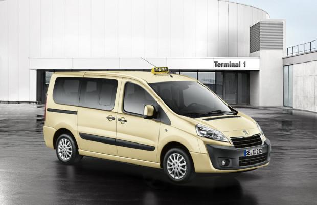 AMI 2012: Peugeot stellt beim Taxitag den Expert Tepee vor