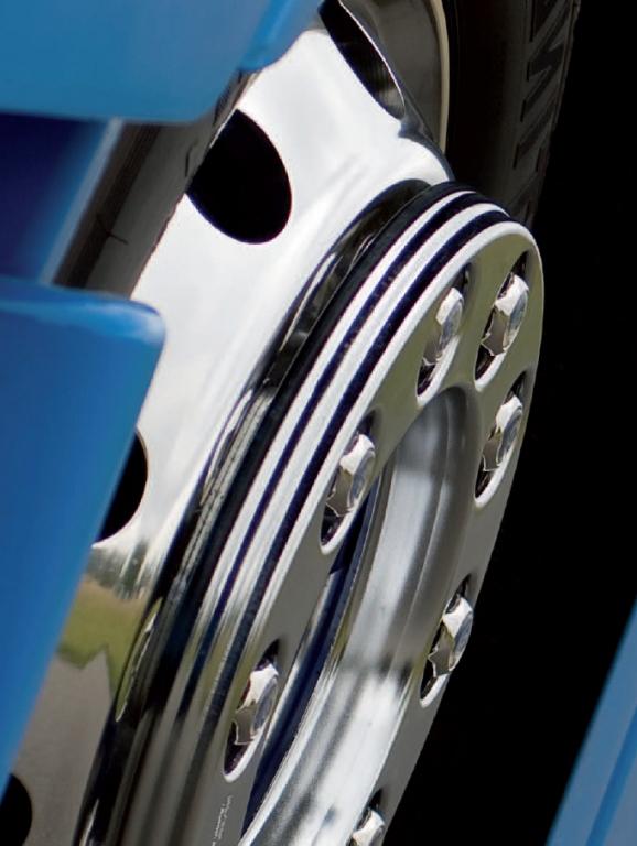 Alcoa Alufelgen für Nutzfahrzeuge im Leasing