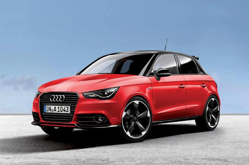 Audi A1 Editionsmodelle Amplified - Paket-Politik