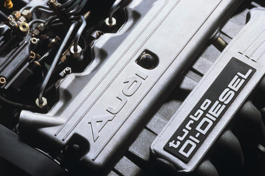 Audi TDI Technologie Fünfzylinder ab 1989