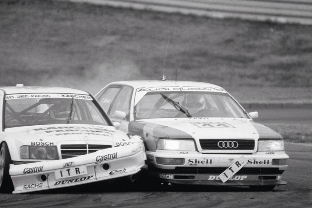 Audi V8 DTM Titelsieg 1990 und 1991
