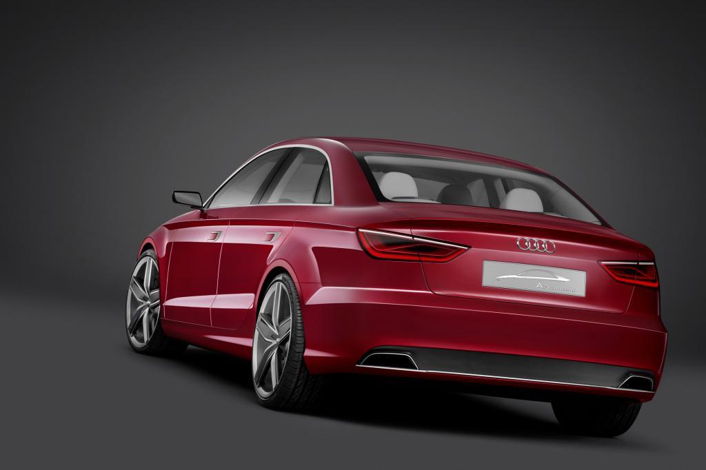 Audi hat bereits die Studie eines Stufenheck-A3 gezeigt