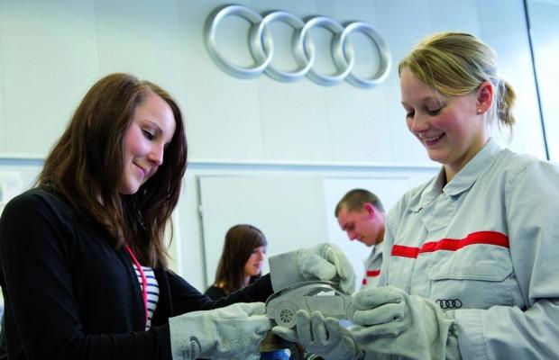 Audi informiert über Berufsstart 2013