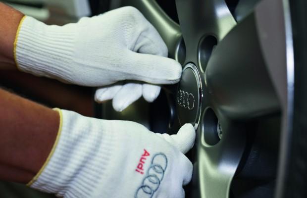 Audi setzt zweistelliges Absatzwachstum fort