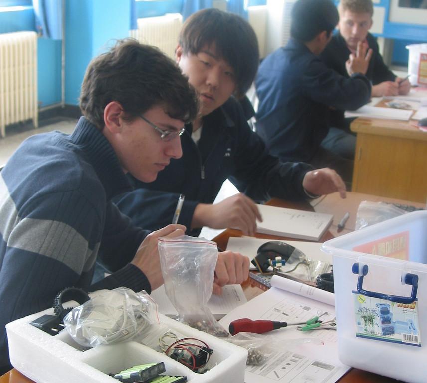 Auszubildende arbeiten zwei Wochen in China