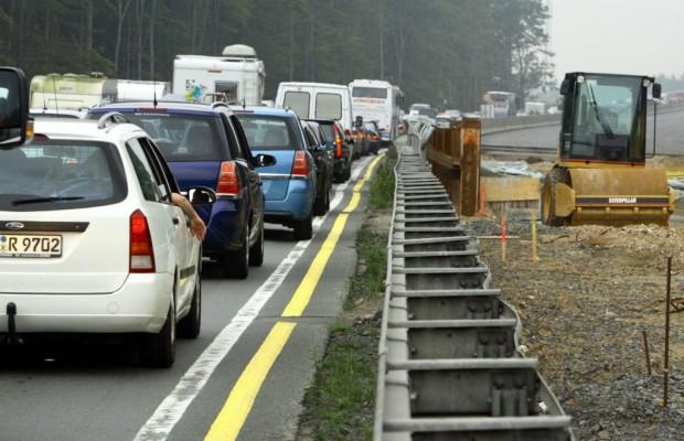 Autobahnbaustellen - Rekordhoch vor Ferienbeginn