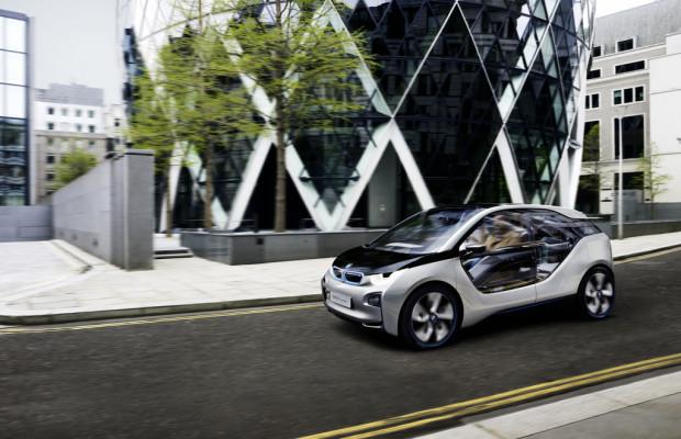 BMW eröffnet i-Store in London