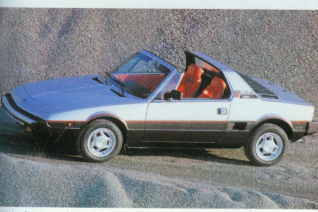 Bertone X1/9 Katalysator ab 1987