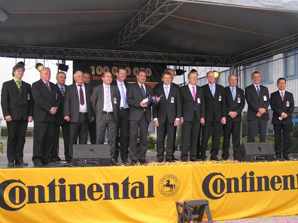 Continental produziert 100-millionsten Bremskraftverstärker in Jičín