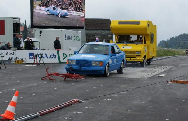 Dekra-Crashtests: Achtung Baustelle