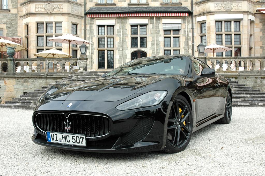 Der GranTurismo MC Stradale ist aktuell Maseratis Spitzenmodell. Fotos: Koch/Maserati