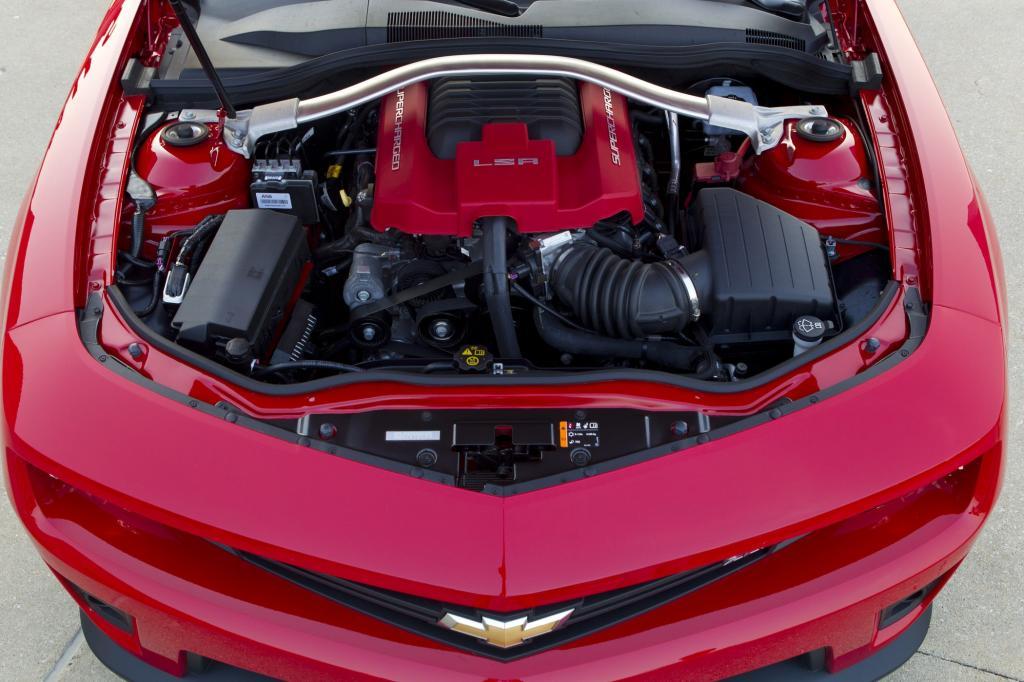 Der Motor stammt aus der Corvette