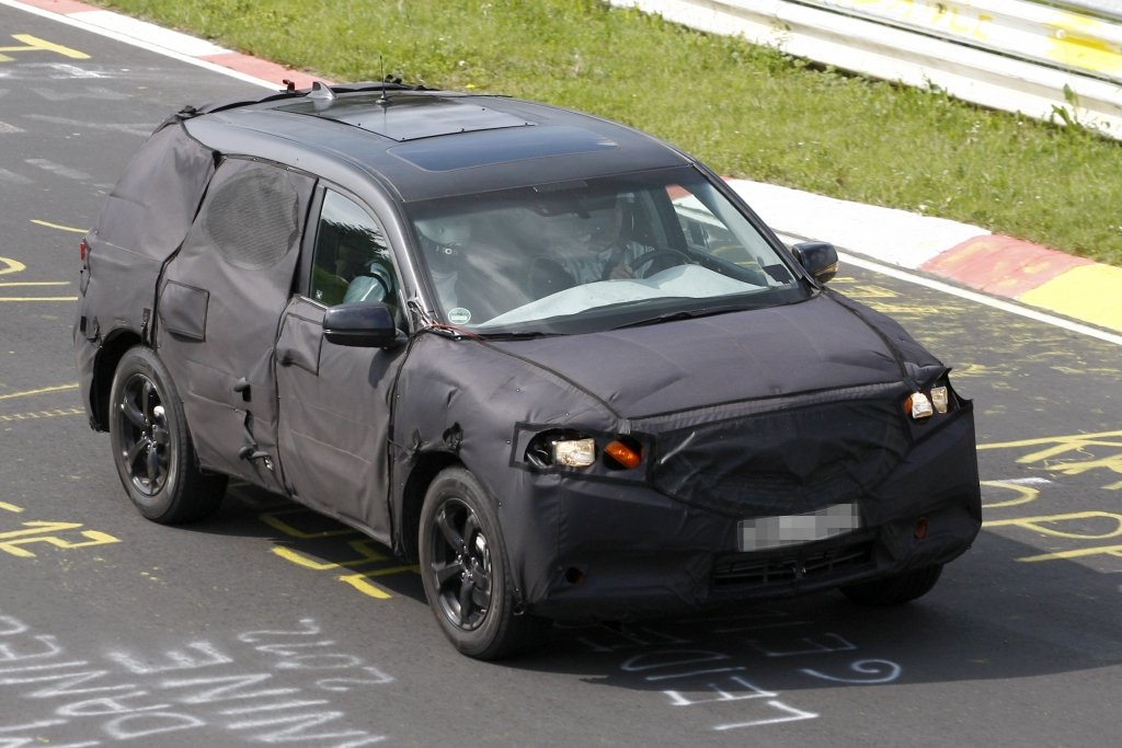 Erlkönig Acura MDX: Premium SUV der Honda-Edeltochter