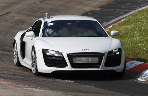 Erwischt Erlkönig Audi R8 – Facelift für den Racer
