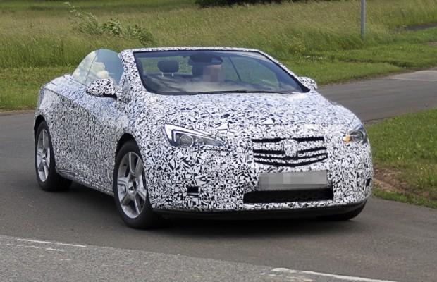 Erwischt: Erlkönig Opel Astra Cabrio