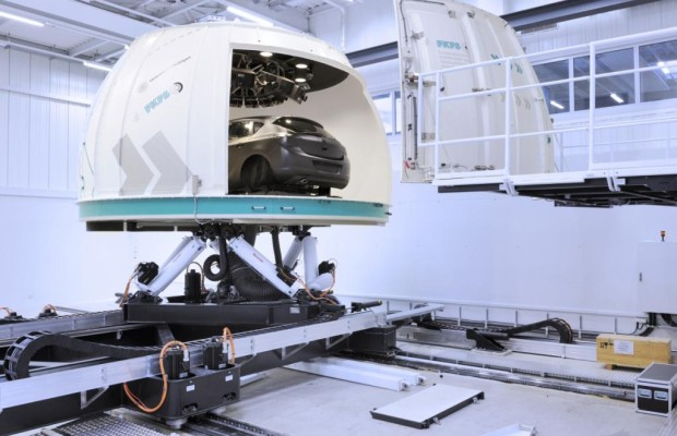Europas größter Fahrsimulator fertiggestellt: weniger Energieverbrauch und weniger Verkehrsopfer