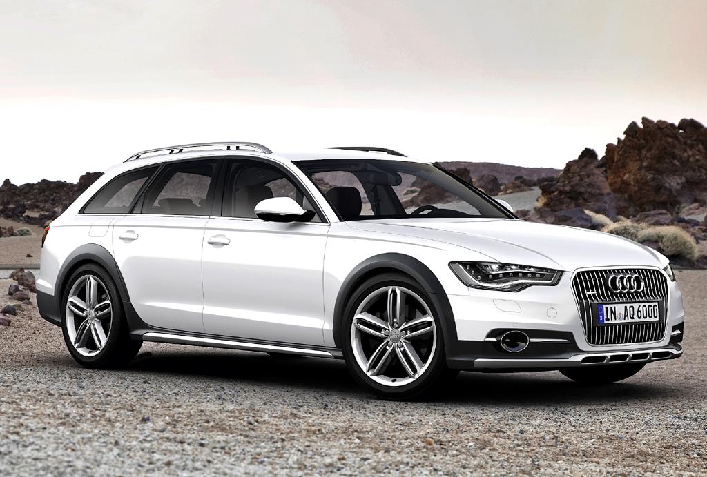 Für alle Wege: Audi A6 Allroad Quattro nur mit aufgeladenen Sechszylindern