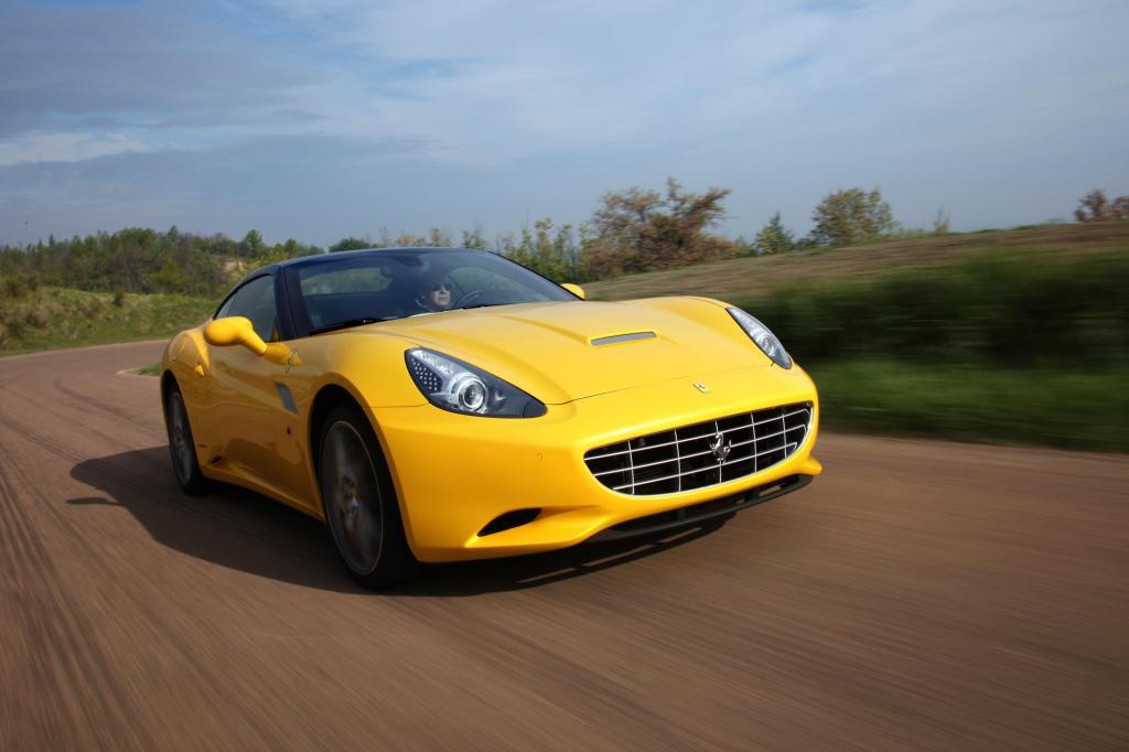 Ferrari hat den California geliftet