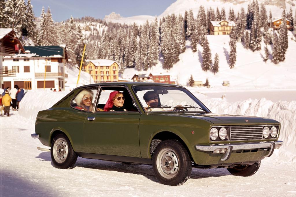 Fiat 128 Sport Coupe 1300 ab 1971 Technikspender für X1/9