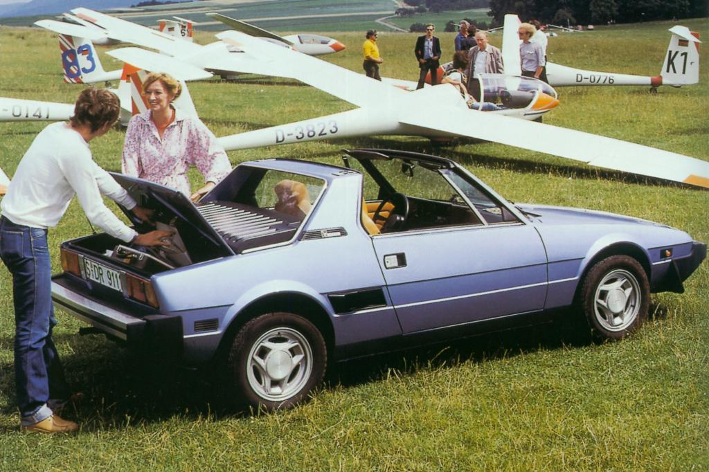 Fiat X 1/9 ab 1978