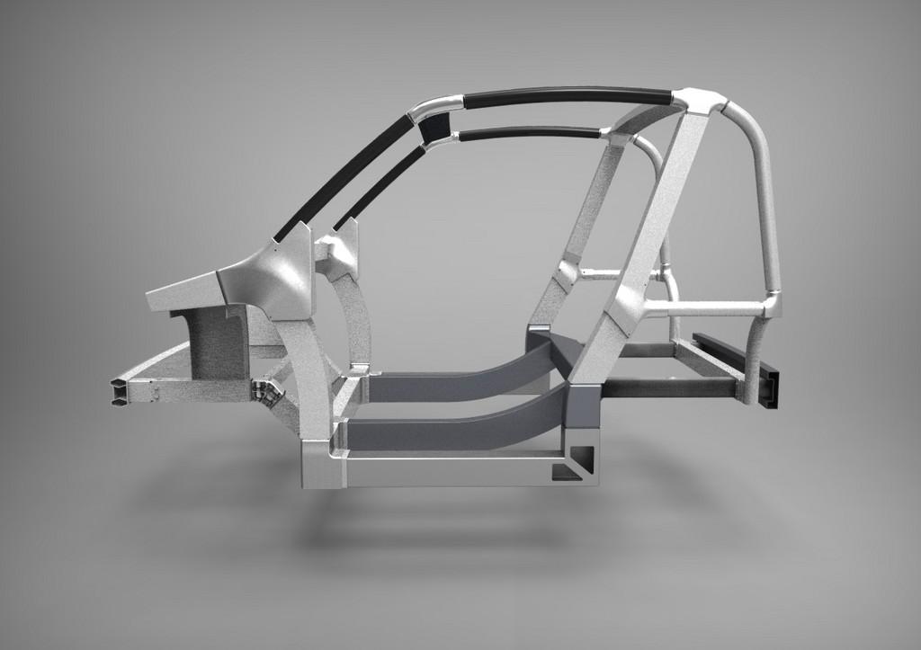 Flexible Karosserie für Elektroautos