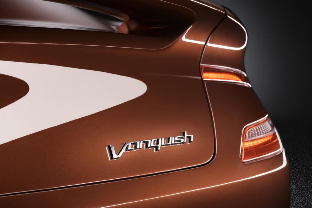 Ganz neu beim Vanquish: Die Karosserie besteht komplett aus Kohlefaser
