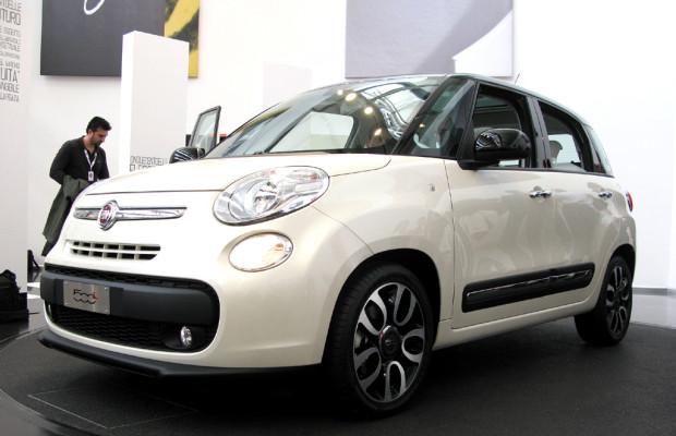 Gestreckte Knuffigkeit: Annäherung an das neue Fiat-500L-Stretchdesign
