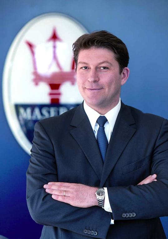Giulio Pastore ist Managing Director Maserati Europe.