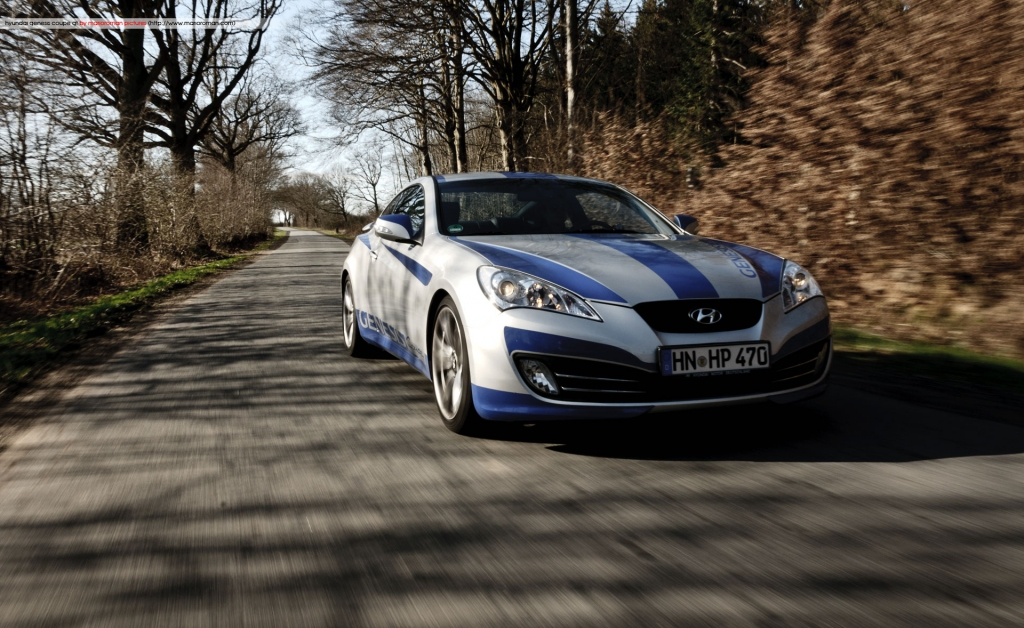 Hyundai Genesis Coupé GT 3.8 V6 – Koreanischer Driftking