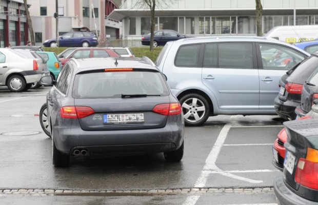 Innenstadt-Stau - Parkplatzsucher stören Verkehr